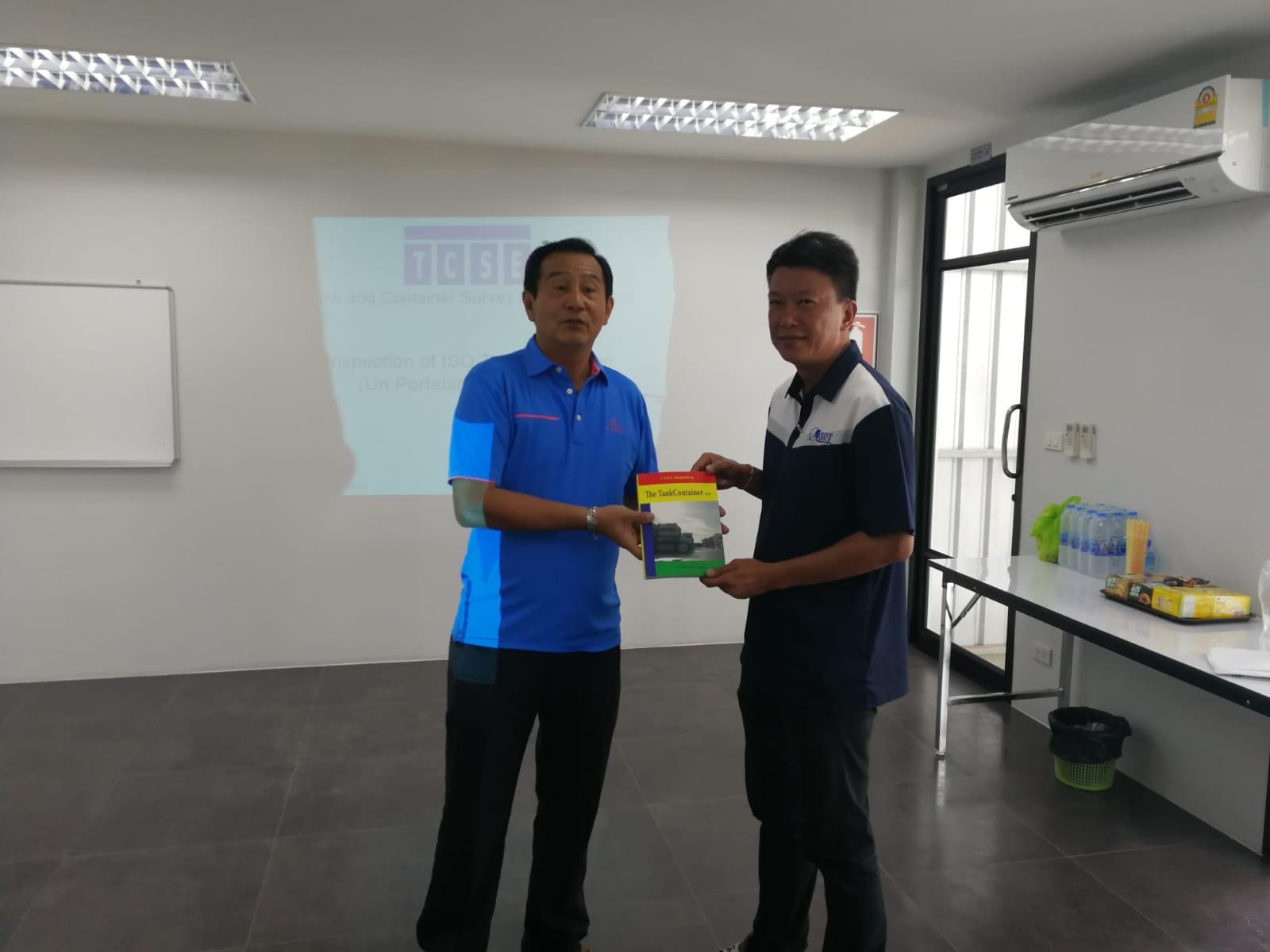 Training in Thailand – 2018-8