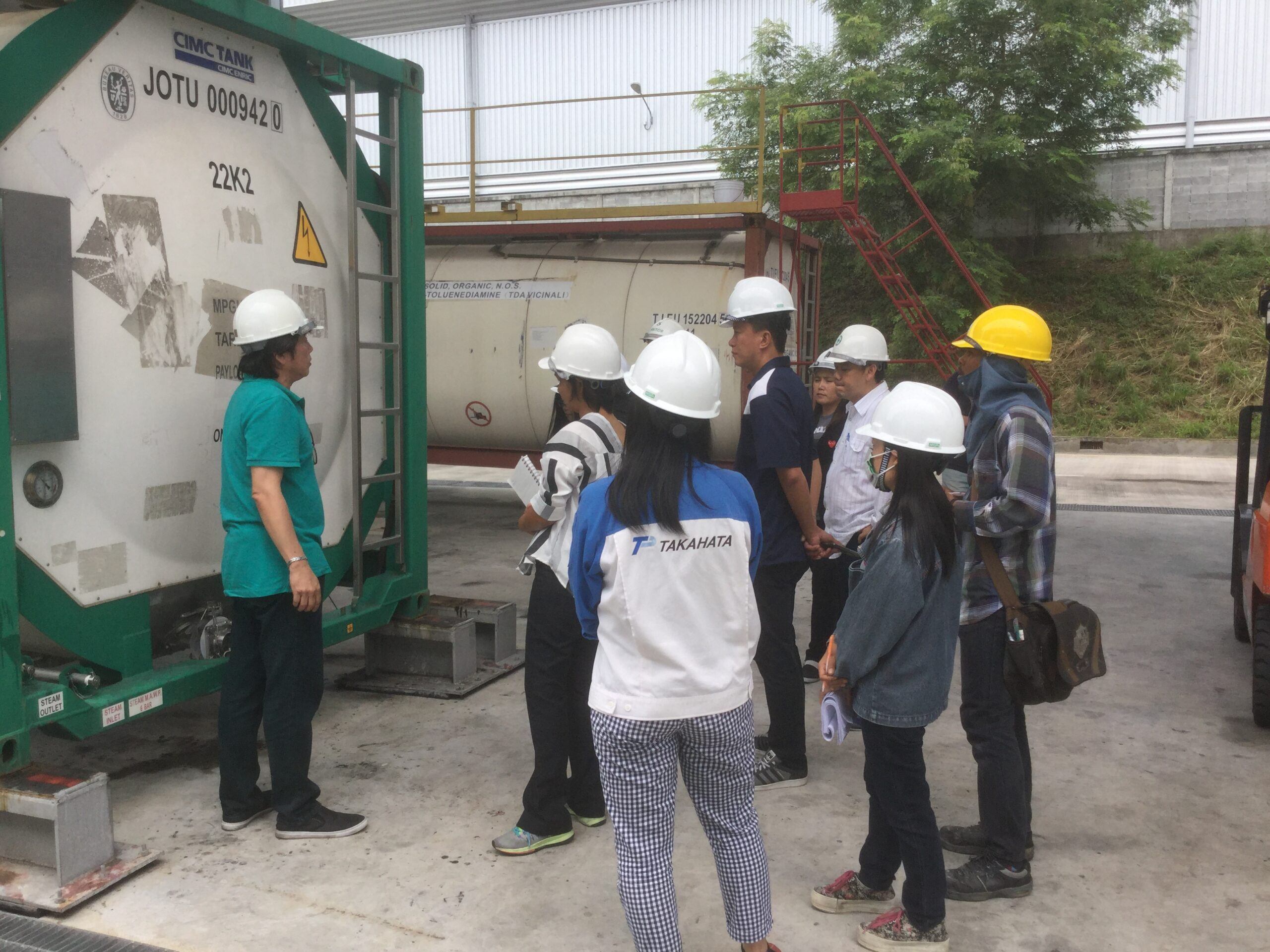 Training in Thailand – 2018